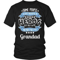 Grandad T-Shirt, Grandad Shirt, Grandad The Hero T-Shirt, Gift for Grandad, Grandad Gift, Gift for Dad, Gift for Grandfather, Fathers Day