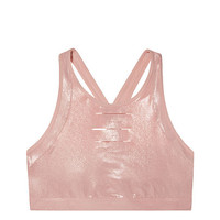 Ultimate Slashed High-Neck Crop - PINK - Victoria's Secret