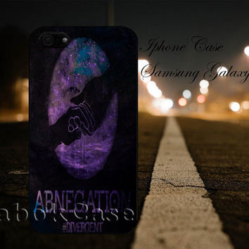 Divergent Abnegation Faction Nebula For - iPhone 4 4S iPhone 5 5S 5C and Samsung Galaxy S3 S4 S5 Case
