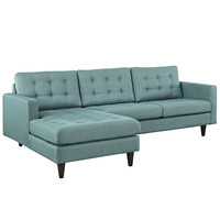 Empress Left-Arm Sectional Sofa in Laguna