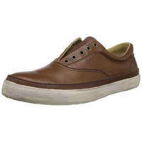 Frye Mens Gavin Deck Leather Distressed Casual Shoes