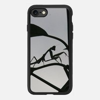 Casetify iPhone 7 Classic Grip Case - Praying Mantis by littlesilversparks #iPhone 7