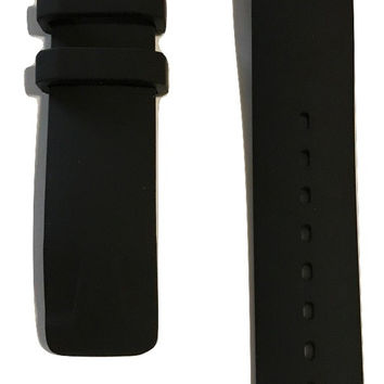 Tissot T-Race Touch Black Rubber Strap Band for back-case T081420A