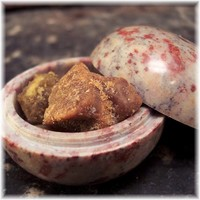 Sacred Amber Resin in Soapstone Vessel Alluring Pure Natural Fragrance