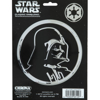 Star Wars Chrome Darth Vader Decal