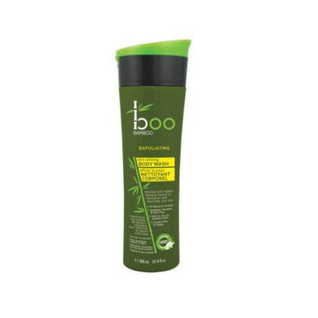 Boo Bamboo Body Wash - Skin Refining Exfoliating - 10.14 Fl Oz