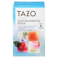 Tazo Iced Blushberry Black Tea 6 ct