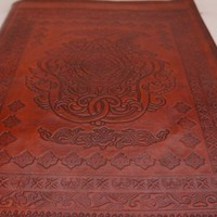 Large Handmade Leather Photo Album