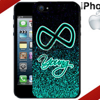 Forever Young Infinity iPhone Case - iPhone 4 Case or iPhone 5 Case