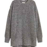 Oversized Mohair-blend Sweater - from H&M