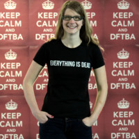DFTBA Records :: Everything Is Dead T-Shirt