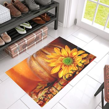 Welcome Fall Front Porch Doormat