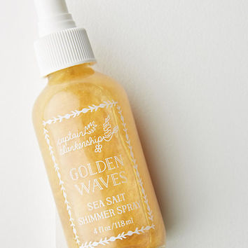 Captain Blankenship Golden Waves Sea Salt Shimmer Spray