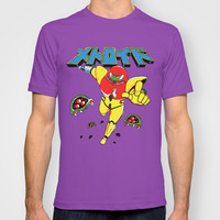 Metroid Japanese Promo T-shirt by Shea Kennedy