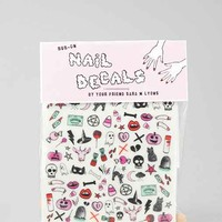 Sara M. Lyons Creepy Cute Nail Decal- Assorted One