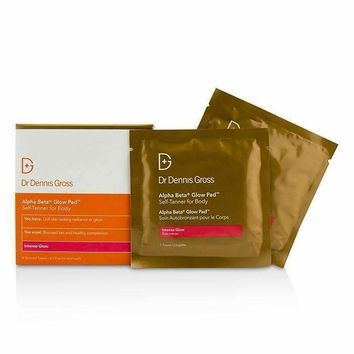 Alpha Beta Glow Pad Self-Tanner For Body - Intense Glow - 8 Towels