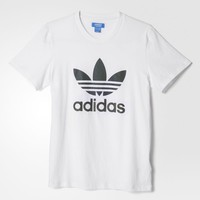 adidas Xeno Stacked Tee - White | adidas US