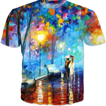 People Walking Art T-shirt