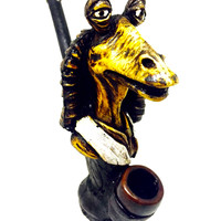 Resin Pipe - Jar Jar Binks
