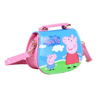 2017 New Children baby girls cute peppa pig handbag Kids Cartoon Handbag shoulder bags
