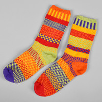 solmate socks - daffodil recycled cotton socks