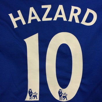Chelsea Football Club Eden Hazard Jersey Tee - #10 Graphic T-Shirt Unisex Adult  FREE SHIPPING