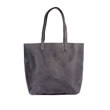 JoAnne Tote Slate Grey with Grey