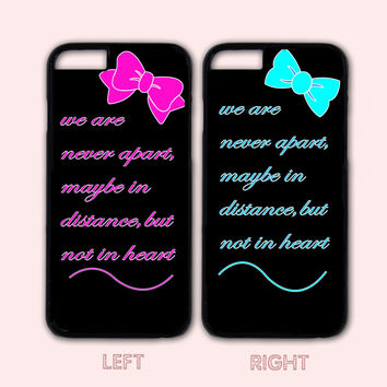 Best Friends Forever Couple Case,Custom Case,iPhone7 7S 7 7Splus iPhone 6+/6/5/5S/5C/4S/4,Samsung Galaxy S6/S5/S4/S3/S2
