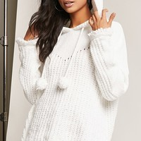 High-Low Hooded Sweater
