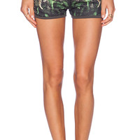 All Things Fabulous Track Short in Green