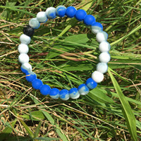 Lokai Bracelet Purple/White
