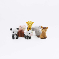 Zoo Animal Eraser Set - Urban Outfitters