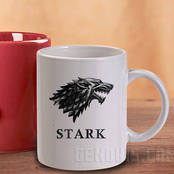 Game Of Thrones Stark Clan  244 Mug and Cup / Custom Mug / Custom Cup