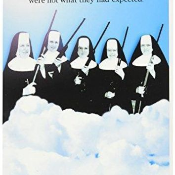 'Virgins In Heaven Birthday' - Funny Birthday Greeting Card with Envelope - Free Shipping