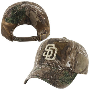 San Diego Padres '47 Brand Frost Adjustable Hat – Realtree Camo