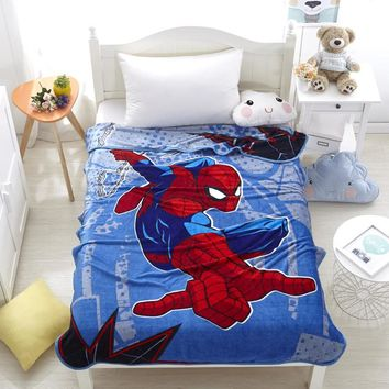Disney avengers children coral fleece blanket 1400mmx2000mm