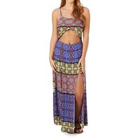MINKPINK Pepper and Splice Cut Out Maxi Dress (S)