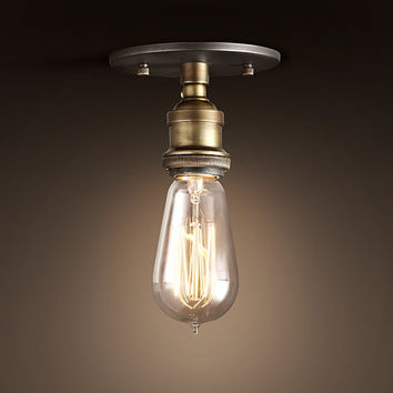 New Vintage Small Ceiling Light