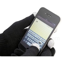 Touch Screen Texting Gloves (Medium) - Works on All Touch Screen Phones, Tablets and GPS