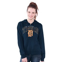 Detroit Tigers Wildcat Fleece Hoodie - Women's, Size:
