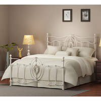 Ashdyn White Queen Bed   Overstock.com
