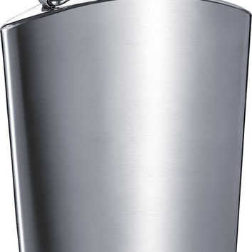 Visol Costel Satin Finish Stainless Steel Liquor Flask - 5oz