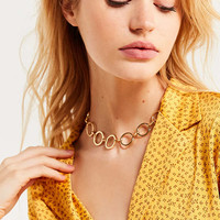 Desi Circle Link Choker Necklace | Urban Outfitters