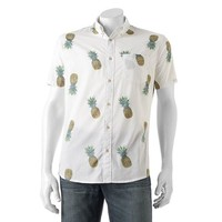 Men's Urban Pipeline Print Button-Down Shirt