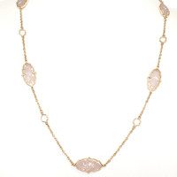 Maleka Abalone Arabasque Necklace