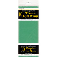 Walmart: Green Tissue Paper Sheets, 10pk