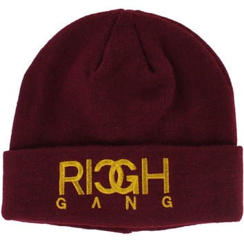 Rich Gang Men's Knit Beanie Skull Cap Hat Birdman Young Thug