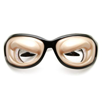 Buldging Crazy Eyes Silly Funny Novelty Costume Party Glasses