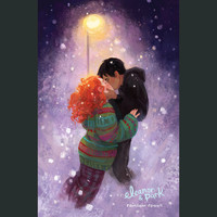 SIGNED Eleanor and Park Kiss Poster