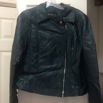 Forever 21 Plus-size Pleather Jacket